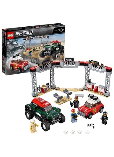 Lego LEGO Speed Mini Cooper S Rally Renkli